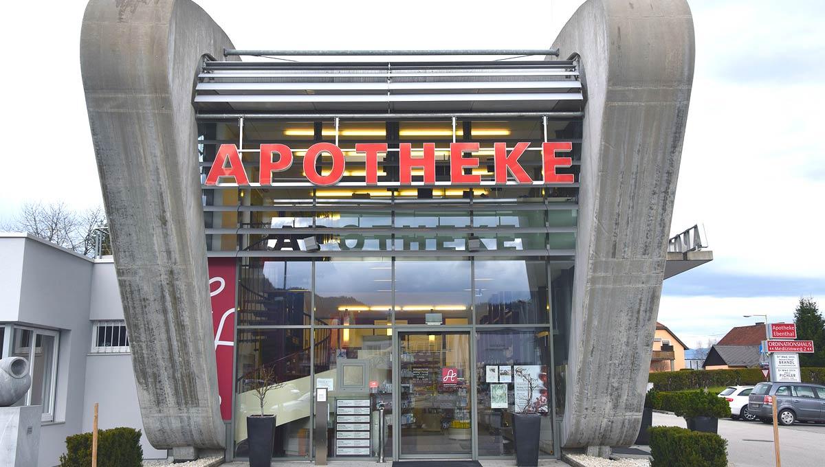Apotheke Ebenthal TCM Spezialist Kärnten Aussenansicht